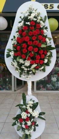 2 katlı nikah çiçeği düğün çiçeği  Ankara çiçek gönderme