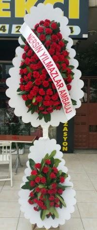 Çift katlı düğün nikah çiçeği modeli  Ankara hediye çiçek yolla