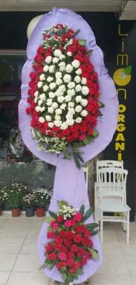 Çift katlı işyeri açılış çiçek modeli  Ankara ucuz çiçek gönder