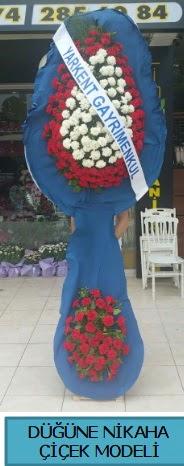 Düğüne nikaha çiçek modeli  Ankara çiçek satışı