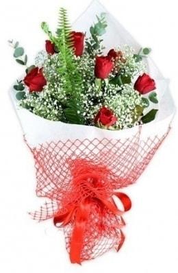 7 adet gülden kız arkadaşıma çiçek  Ankara çiçekçi telefonları