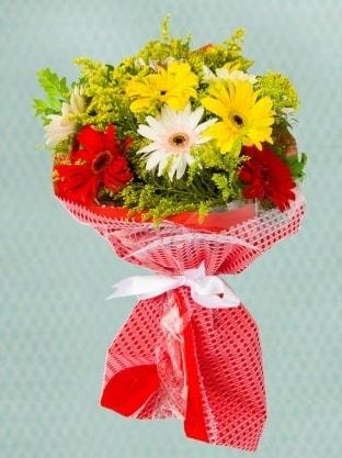 Karışık Gelbera Buketi  Ankara çiçek siparişi sitesi