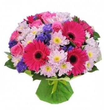 Karışık mevsim buketi mevsimsel buket  Ankara çiçek satışı